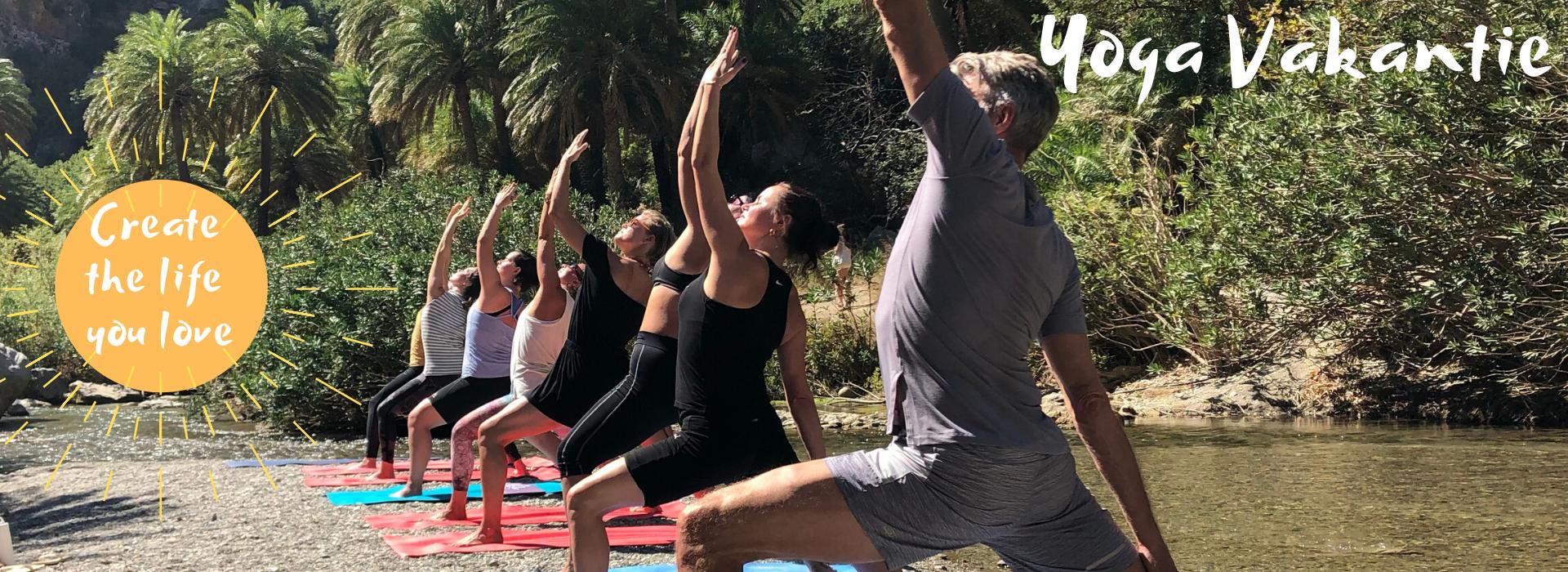 Gezellige Yoga lessen op de mooiste plekjes van Griekenland op Kreta in 2020. Wij staan voor gezelligheid, lekker eten en samen yoga doen! De verbinding met elkaar, zorgeloos genieten en tot rust komen.